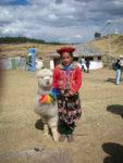 Alpaca & Lady